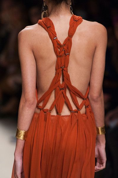 Alberta Ferretti, Spring 2016 - The Most Beautiful Backless Dresses of 2016 - Photos