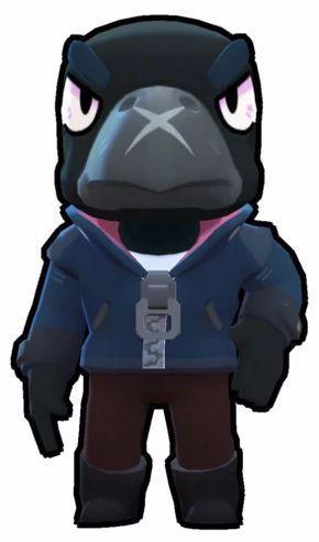 Crow Brawl Stars Wiki Fandom Powered By Wikia In 2020 Crow Star Character Brawl