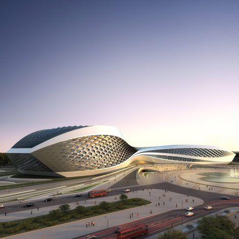 Chengdu Contemporary Art Centre by Zaha Hadid Architects | Dezeen