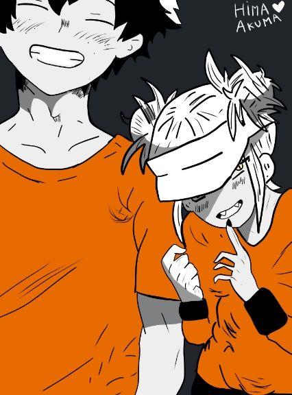 Mha Bnha Togadeku Toga X Izuku My Hero Academia Boku No Hero Acadamia Hero Wallpaper Villain Deku Critical Role Fan Art
