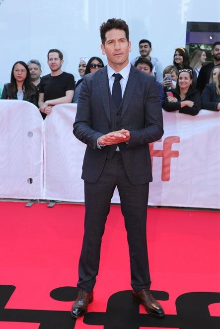 Actor Jon Bernthal Chose To Wear Boss To The Ford Vs Ferrari