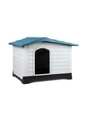 Plastic Blue Dog Kennel Extra Large Plastic Blue Dog Kennel