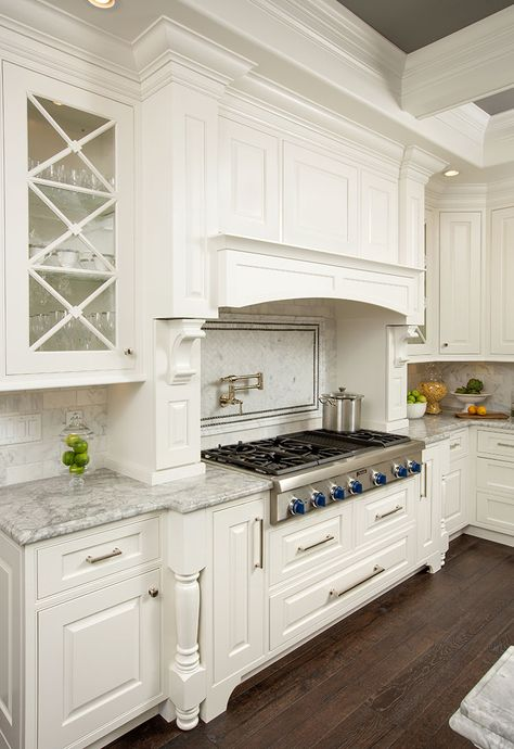 Receive a Complimentary In-Home Kitchen Remodel Consultation with an Award Winning Kitchen Designer from Kitchen Kraft Inc. Kitchen Hoods, Kitchen Stove, Kitchen Cabinetry, Kitchen Redo, Kitchen Tiles, Home Decor Kitchen, Interior Design Kitchen, Country Kitchen, New Kitchen