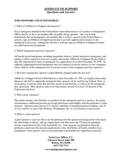 Immigration Affidavit Letter Sample Bagnas - affidavit of - rental agreement letter template