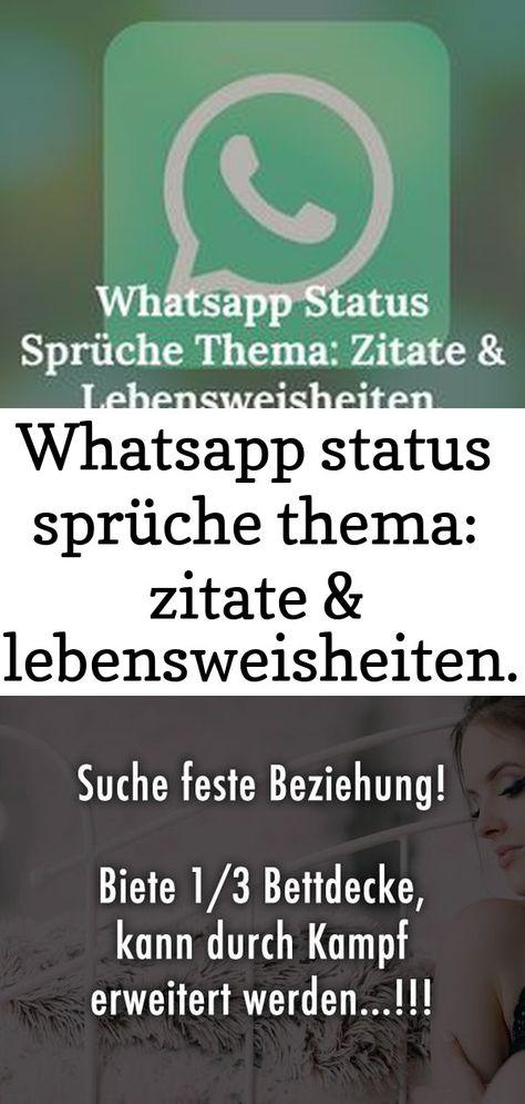 Whatsapp beziehung