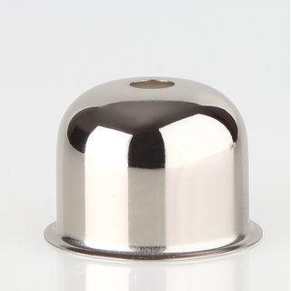 E27 Fassungshulse 48x35 Zierhulse Vernickelt Emmaaufsatz 7 75 Fassung Metall Kunststoff