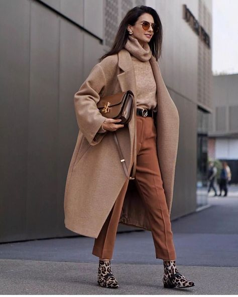 Long coat + turtleneck sweater is the perfect match for winter - Page 36 of 39 - zzzzllee