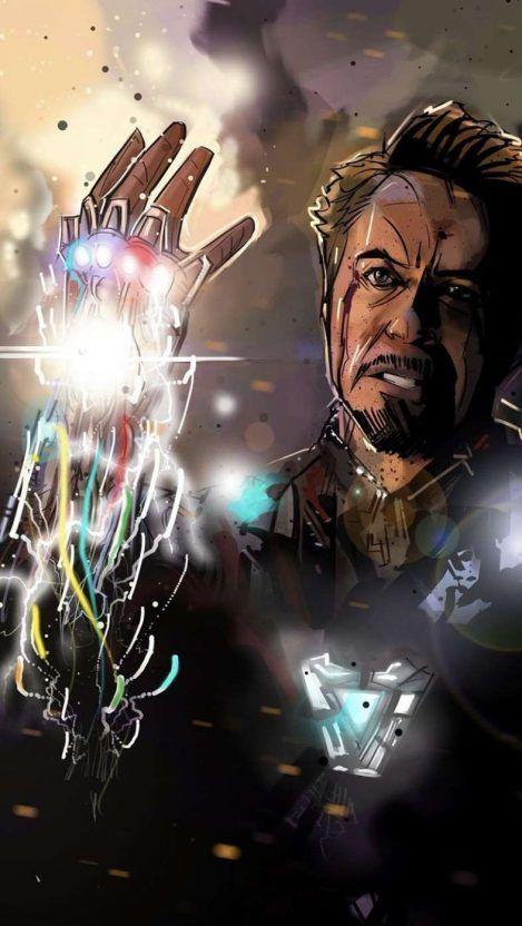 I Am Iron Man Snap Iphone Wallpaper Vingadores Personagens Marvel Vingadores Herois Marvel