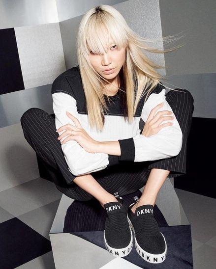 DKNY Brea Slip-On Platform Sneaker