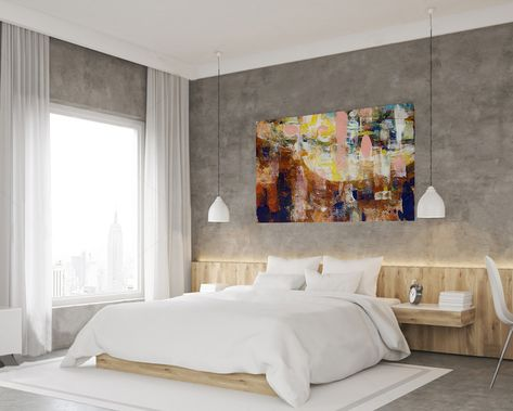 Bedroom Abstract, Bedroom Abstract Art, Bedroom Abstract ...