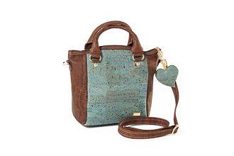 Cork bag PRAHA Ocean Wood