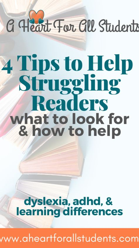 4 Tips: How to Teach Your Child to Read... Even Dyslexia