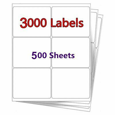 Ad Ebay 3 1 3 X 4 3000 Laser Ink Jet Address Shipping Mailing Return Label 6 Per Sheet With Images Inkjet Labels Adhesive Labels Barcode Labels