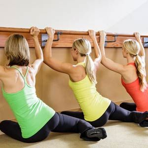 Barre Moves You Can Do At Home: Ultra-sculpting moves for a lean, sexy bod. #SelfMagazine