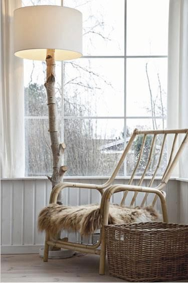 Make Your Own Tree Branch Floor Lamp   Tree branches, Branches and ...