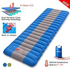 Top 10 Camping Sleeping Pads Of 2020 In 2020 Camping Sleeping Pad Sleeping Pads Camping Mattress Pad