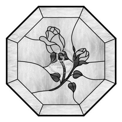 Desain Kaca Patri Bunga Tulip Kerajinan Kaca Patri Jogjakarta Indonesia Desain Kaca Patri Kaca Patri Pola Kaca Patri