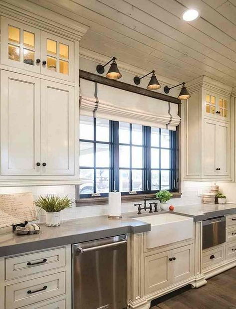 21+ Best Farmhouse Kitchens Design and Decor Ideas for 2018