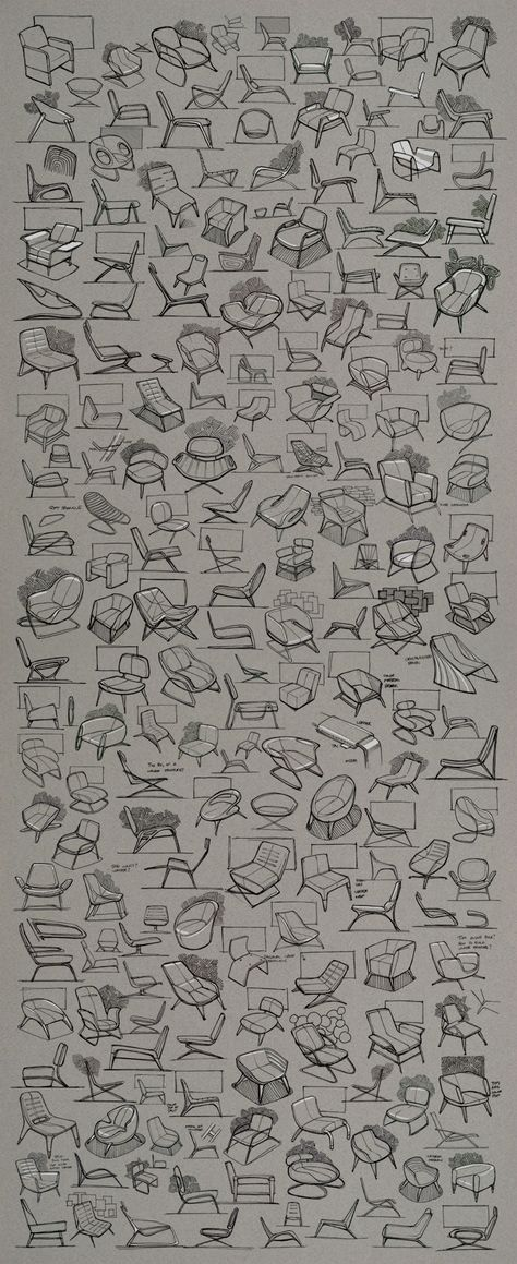 Chair Ideation: Industrial design