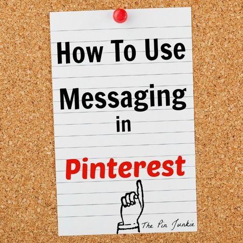 How To Send Pinterest Messages