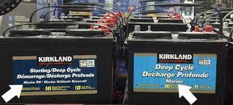 Deep Cycle Marine Battery Costco Marine Batteries Marine Cycle