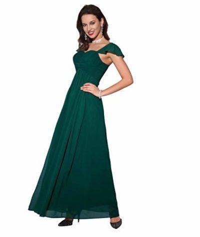 782d7b891 KRISP Vestido Fiesta Largo Busto Plisado   Vestidos 2019   Vestidos ...