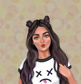 صور بنات كرتون كيوت Girly M Photo Ideas Girl Girl Cartoon