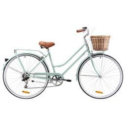 Reid Ladies Classic 7 Speed Steel Bike 26 Sage Bicycle Steel