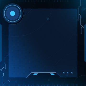 Fundo De Circuito Eletronico De Tecnologia Azul Blue Background Images Technology Background Graphic Design Background Templates