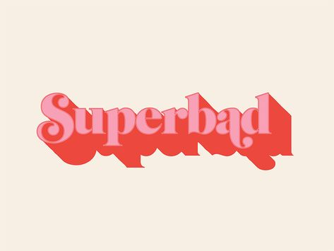 Superbad Type Study type ball terminal retro superbad seventies fat swashes swashes typography Those ball terminals are bad to the bone amirite! Investigating some type treatments. fat swashes or ball terminals? Japanese Typography, Creative Typography, Typography Quotes, Typography Letters, Typography Poster, Graphic Design Typography, Logo Design, Type Design, Typography Layout