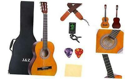 Classical Guitar Acoustic Guitar Junior Size 36 In 2020 Guitar For Beginners Classical Acoustic Guitar Classical Guitar