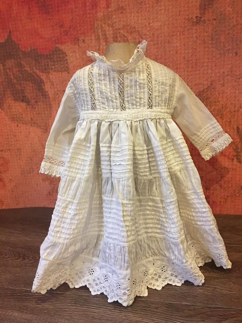 Antique Doll Dress for Large French or German Bisque