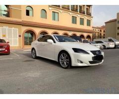 Lexus Is250 6 Manual Transmission 2007 Original Drag Race Injen Intake In Dubai Lexus Is250 Lexus Dubai Cars
