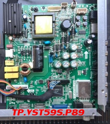 TP VST59S P89 Universal LED TV Board Software All Resolutions