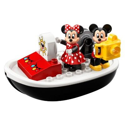 Lego Duplo Disney Mickey Mouse S Boat 10881 Lego Duplo Mickey Mouse Toys Lego For Kids