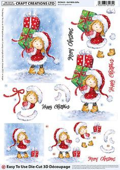 Christmas Collection 2016 1 4 Craft Creations Online