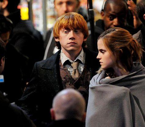 Rupert Grint and Emma Watson Photo: Emma and Rupert