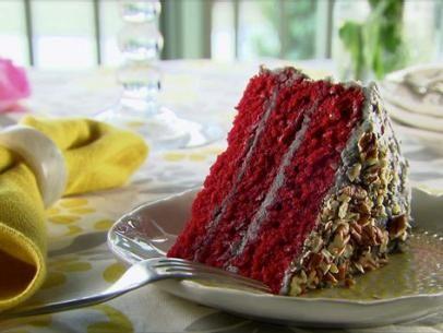 Red Velvet Cake Recipe Food Network Recipes Red Velvet Cake Velvet Cake