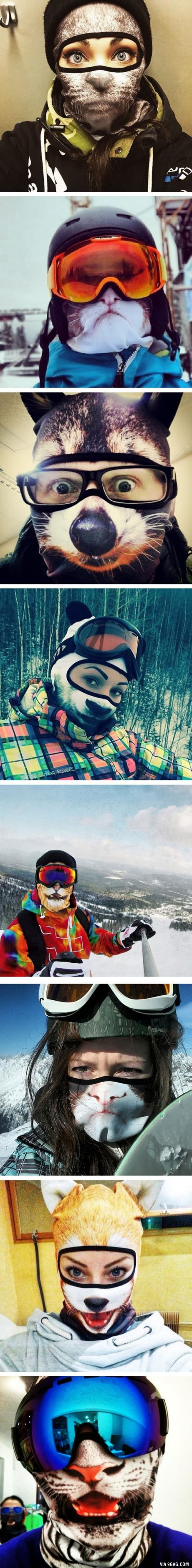Animal Ski Masks By Teya Salat
