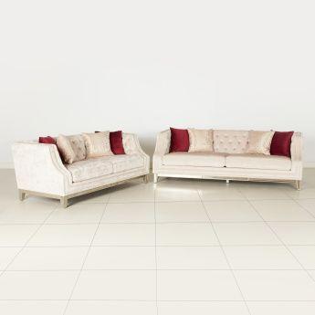 كنبة بـ3 مقاعد معنقدة من جيويل ذهبي Furniture Outdoor Furniture Outdoor Sofa