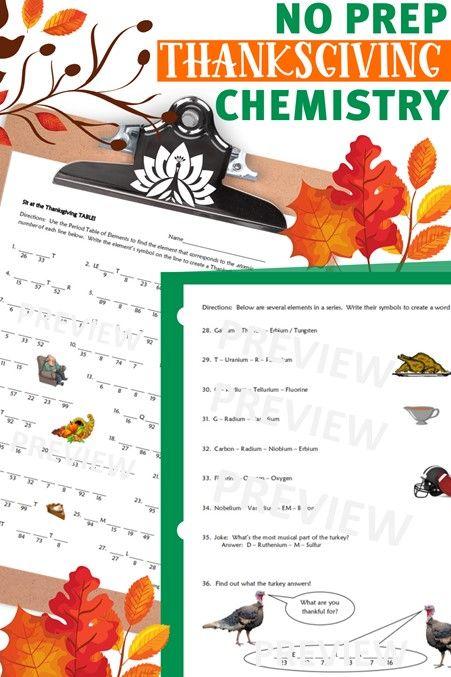 43++ Thanksgiving science worksheets 6th grade Popular