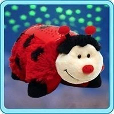 Amazon Com Pillow Pets Dream Lites Ms Ladybug 11 Childrens