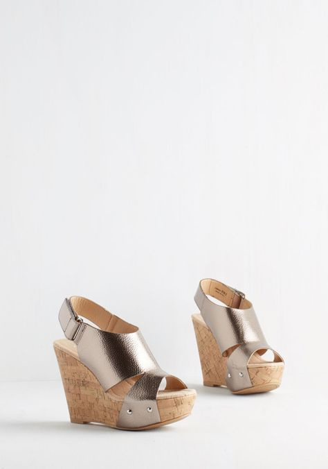 Style Be Your Mirror Wedge, #ModCloth
