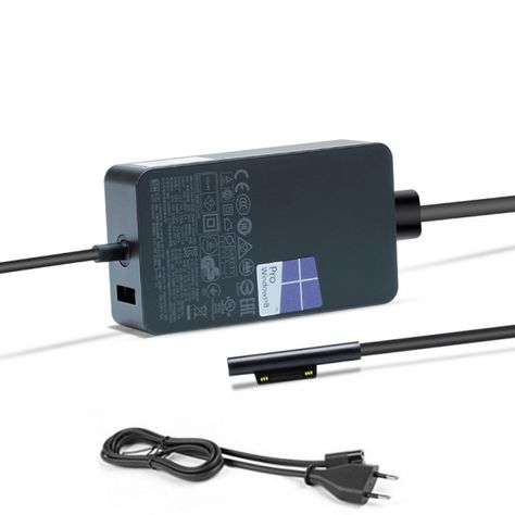 originale adattatore caricabatterie 65w microsoft surface pro 4 serie microsoft surface pro 4