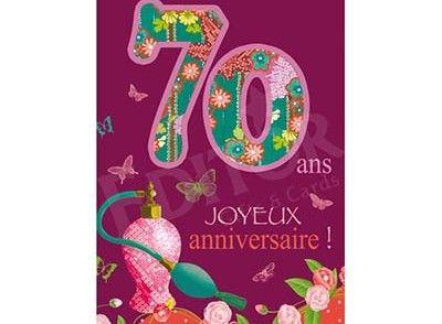 Carte Anniversaire Gratuite 70 Ans A Imprimer Moderne Carte Joyeux Anniversaire Carte Anniversaire Carte Anniversaire 70 Ans