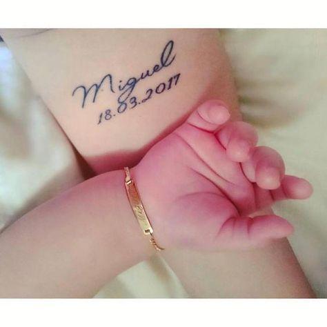 Si ya eres mamá, este tatuaje te encantará ya que podrás llevar la fecha de nacimiento de tu pequeño para siempre. ¡Mira lostatuajes que toda mamá primeriza amará!