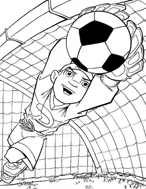 Free Printable Soccer Coloring Pages For Kids | Sports ...