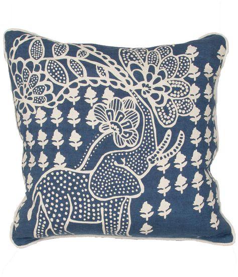 Jaipur Rugs En Casa Decorative Pillow Throw Pillows Elephant