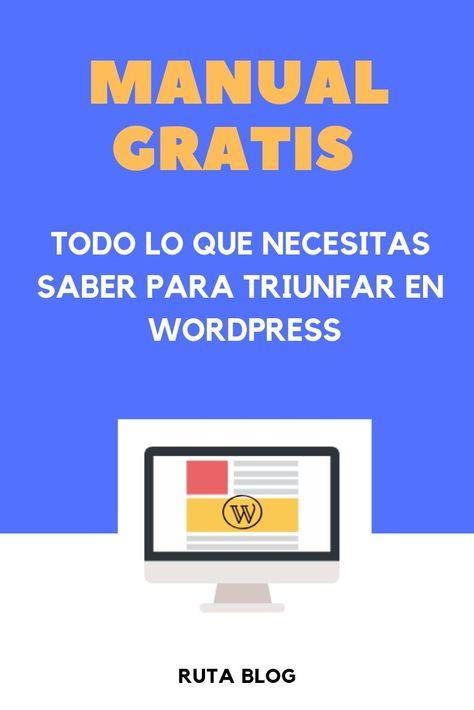 Manual Wordpress 2019 | Ruta Blog