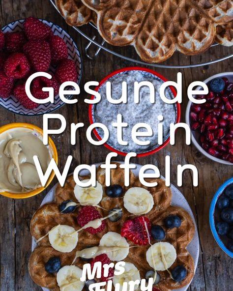 Gesunde Protein Waffeln ohne Proteinpulver @mrsflury  gesundes Frühstück, Brunch, vegan, vegane Waffeln, Proteinwaffeln, Protein Pancakes, Bohnen, ohne Proteinpulver, viel Eiweiss, wenig Fett, proteinreich, ohne Proteinpulver, natürlich, gesund essen, gesunde Rezepte, einfach, gesundes Frühstück, Meal Prep, Waffel Rezept, vegane Waffeln, Mrs Flury, Mrs. Flury Rezept #gesund #gesunderezepte #waffeln #mrsflury #protein #proteinwaffeln
